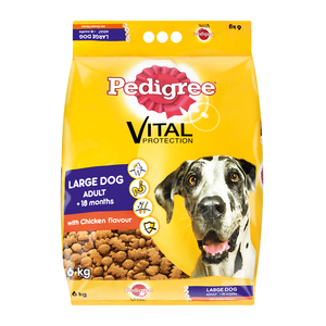 Pedigree D/food Lrg Dog Chicken 6kg