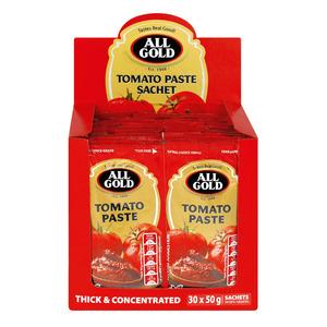 All Gold Tomato Paste In No Waste  Sachet 50g x 30