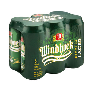 Windhoek Lager Can 440 ml x 24