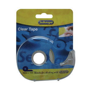 Sellotape Clear Tape 18mmx15m