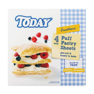 Today Puff Pastry Sheets 4ea