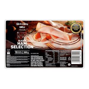 Pnp Sliced Ham Select 250g