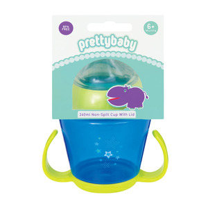 Pretty Baby Non Spill Cup With Lid