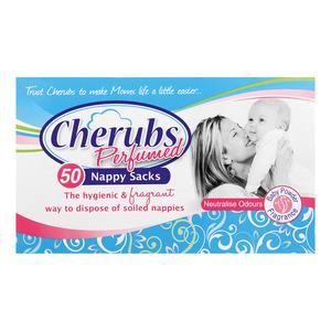 Cherubs Perfumed Nappy Sacks 50s