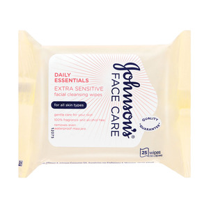 Johnsons Face Wipes 25