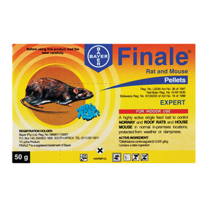 Bayer Finale Rat Poison 50g