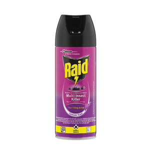 Raid Dual Purpose Low Odour Insecticide 300ml