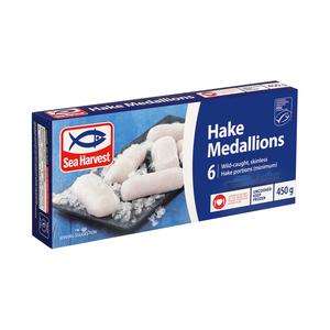 Sea Harvest Hake Medallions 450g