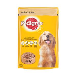 Pedigree Dog Food Chicken In Jelly 100g