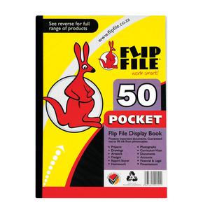 Flip File A4 50 Pocket