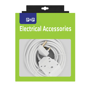 PnP 10m 12a Heavy Duty Extension Cord