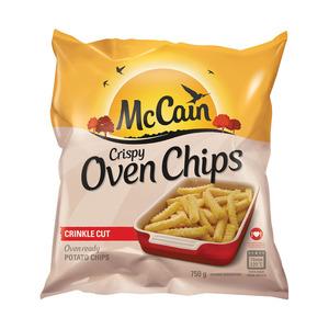 Mccain Oven Chips Crinkle Cut Crispy 750g