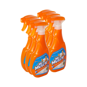 Mr Muscle Bathroom Cleaner Trigger 500ml x 6