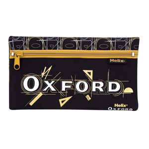 Oxford Neoprene Pencil Case 15x10cm Blck