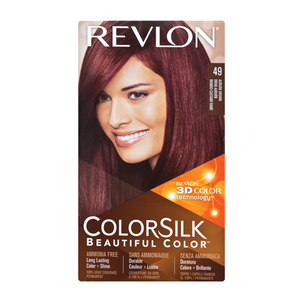 Colorsilk Hair Color Auburn Brown 49