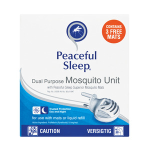 Peaceful Sleep Mosquito Repe Llent Electric Unit
