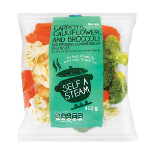 PnP Cauliflower Broccoli & Carrot 400g