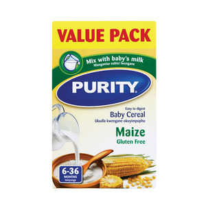 Purity 1st Stage Maize Cereal 450g