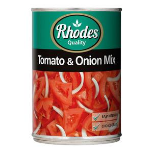 Rhodes Tomato & Onion Mix 410g x 24