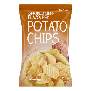 PnP Smoked Beef Chips 125g