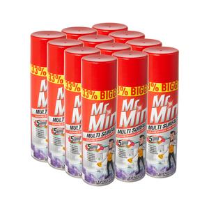 Mr Min Multisurface Lavender 400ml x 12