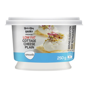 Pnp Low Fat Smooth Cottage Cheese Plain 250g