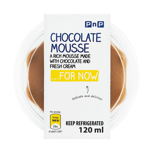Pnp Chocolate Mousse 120ml