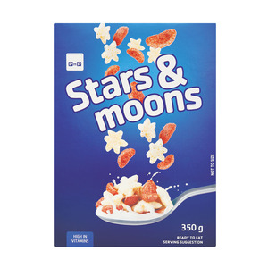 PnP Stars&moons Cereal 350g