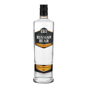 Russian Bear Vodka Passion Fruit 750ml