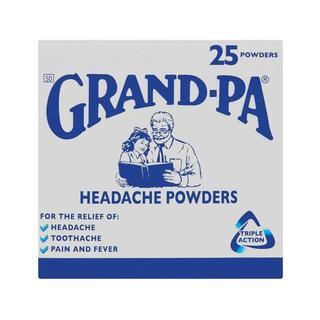 Grand-pa Headache Powders 25 x 144