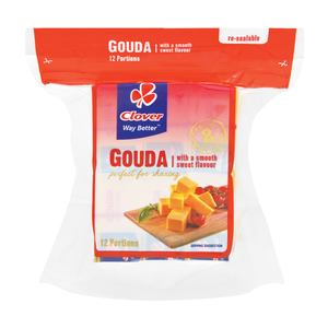 Clover Natural Gouda Portions 300g