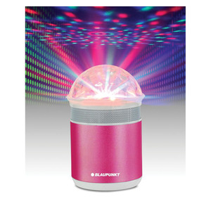 Blaupunkt Bluetooth Speaker With Light  Purple