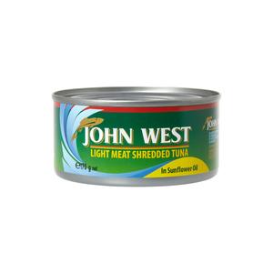 John West Shredded Tuna In Oil 170g