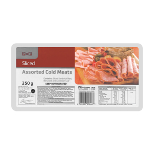 Pnp Assorted Sliced Cold Meat 250g