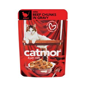 Catmor Adult Beef In Gravy 85g