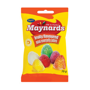 Maynards Enerjelly Mini Jubes 75g