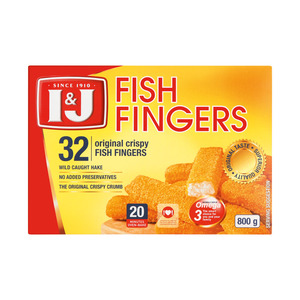 I&J Original Fish Fingers 800g