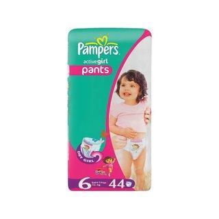 Pampers Active Baby Diaper Pants Xl Jumbo Pck 44ea x 2