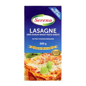 Serena Lasagne Sheets 500g