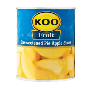 Koo Choice Grade Sliced Pie Apples 385g