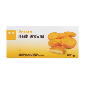 PnP Frozen Plain Hashbrown 600g