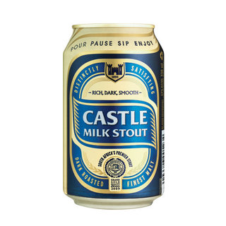 Castle Milk Stout Can 330 ml x 24