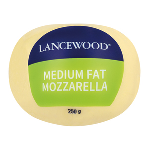 Lancewood Mozzarella Ball 250g