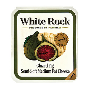 White Rock Cheese with Figs 100g