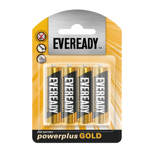 Eveready Power Plus Gold Aa 4p 4