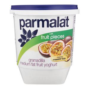 Parmalat Low Fat Granadilla  Fruit Yoghurt 1kg