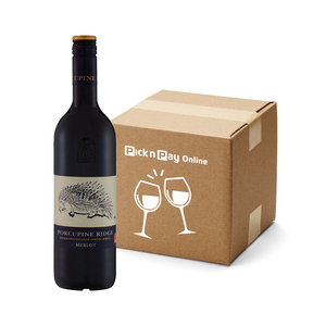 Porcupine Ridge Merlot 750 ml x 6