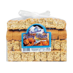 Tuisgebak Bakery Nutty Wheat Rusks 800g