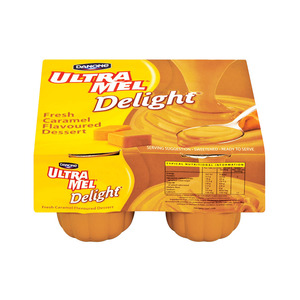 Ultramel Dessert Delight Caramel 4ea