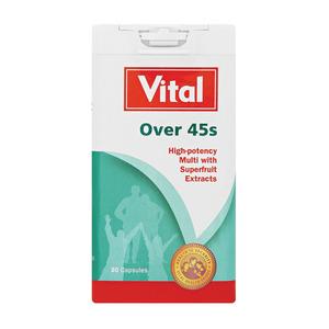 Vital Multitime Multitime For Over 45's  Multi Vitamin 30ea